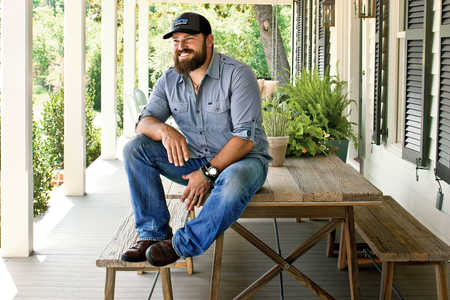 Dishing with Zac Brown