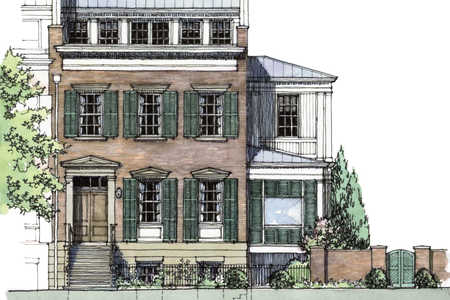Abercorn Place House Plans