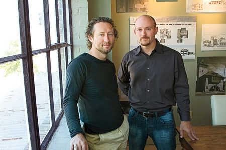 Jeff Dungan and Louis Nequette