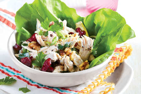 Chicken Salad in Lettuce Cups