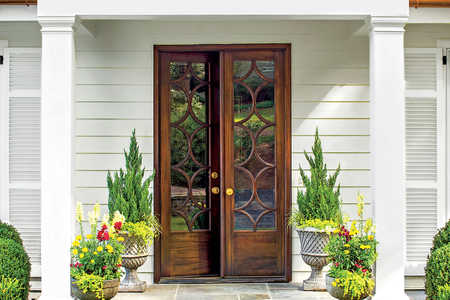 Classic French Door Entry