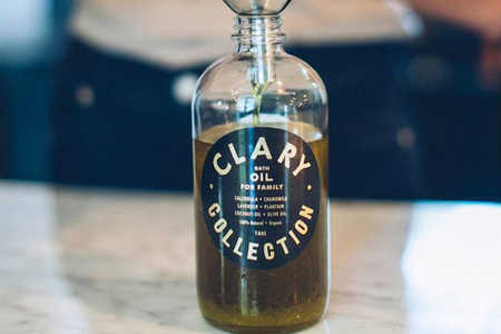 Clary Collection Bath and Body Oil