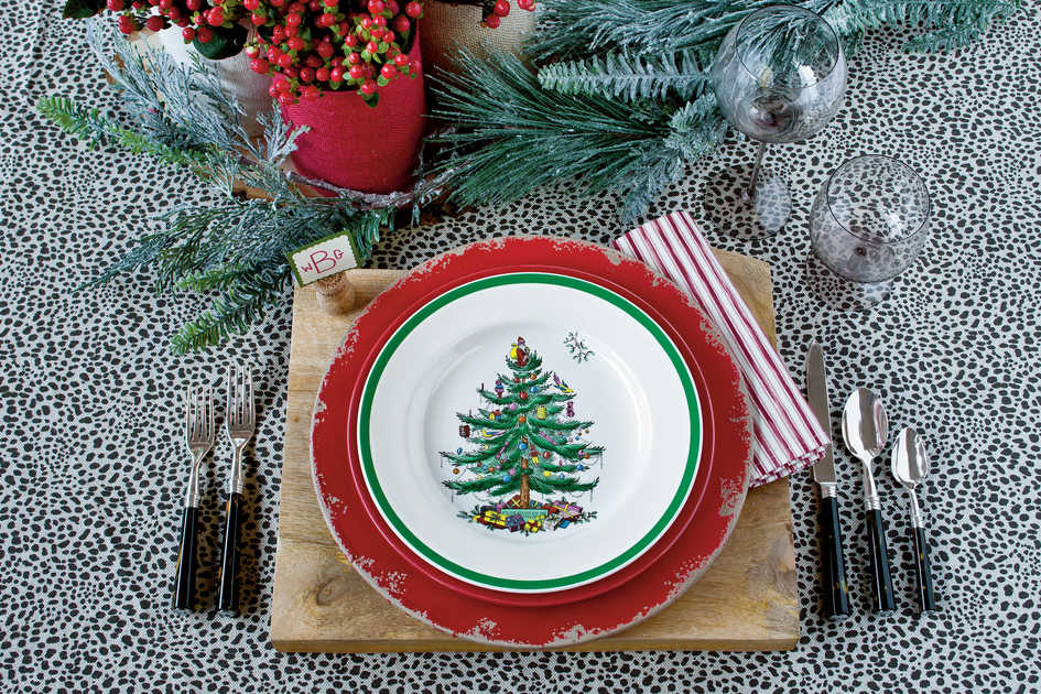 Christmas Tree By Spode