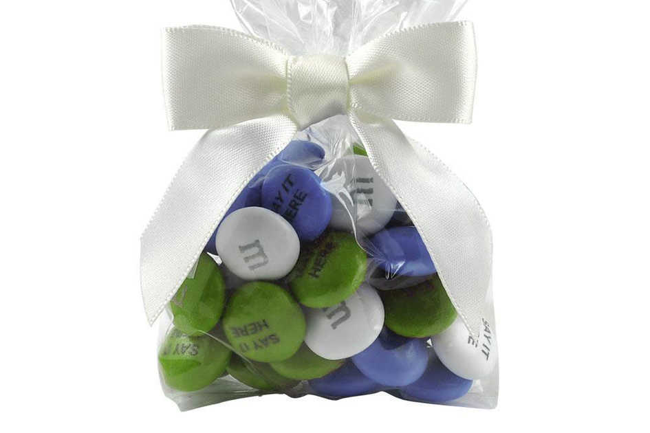 M&M Favor Bag