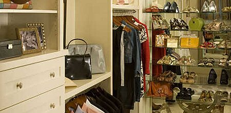 Bedroom Closet Organizing - Southern Living