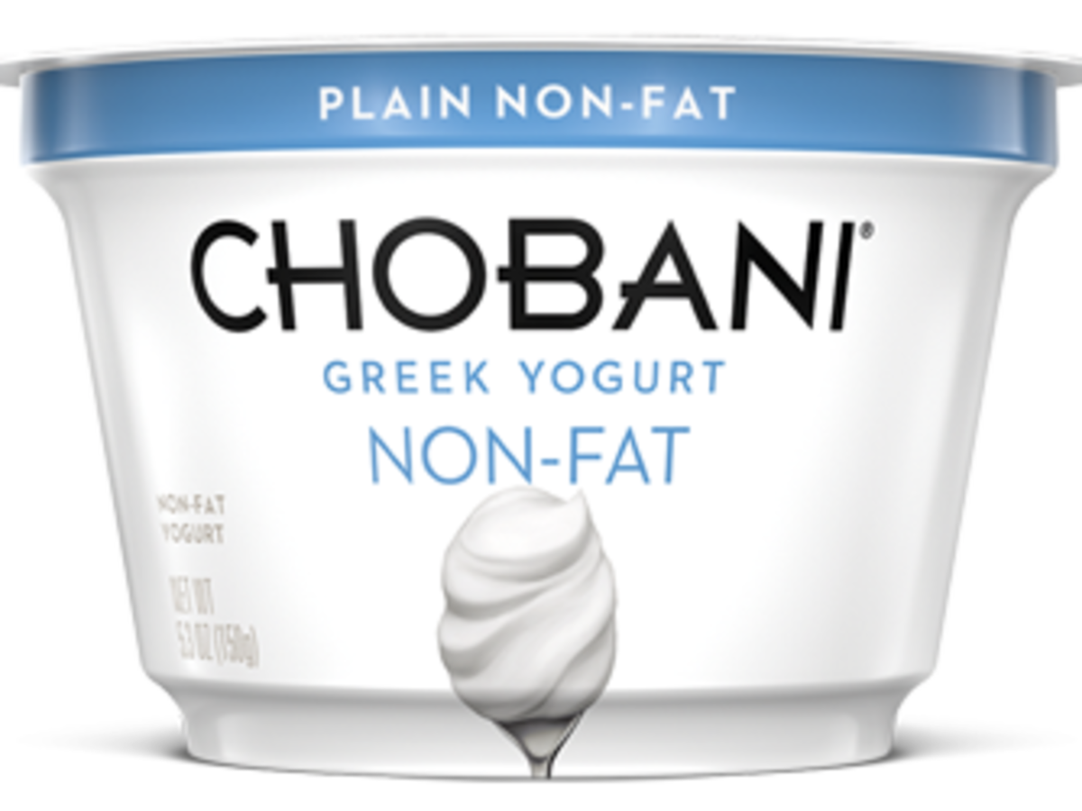1705w- Chobani Plain Greek Yogurt