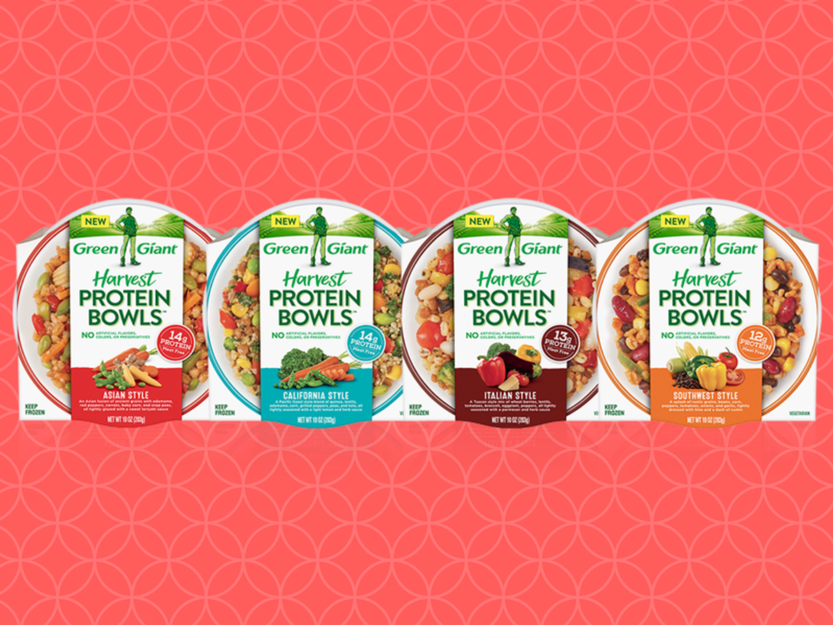 1812w Green Giant Protein Bowls