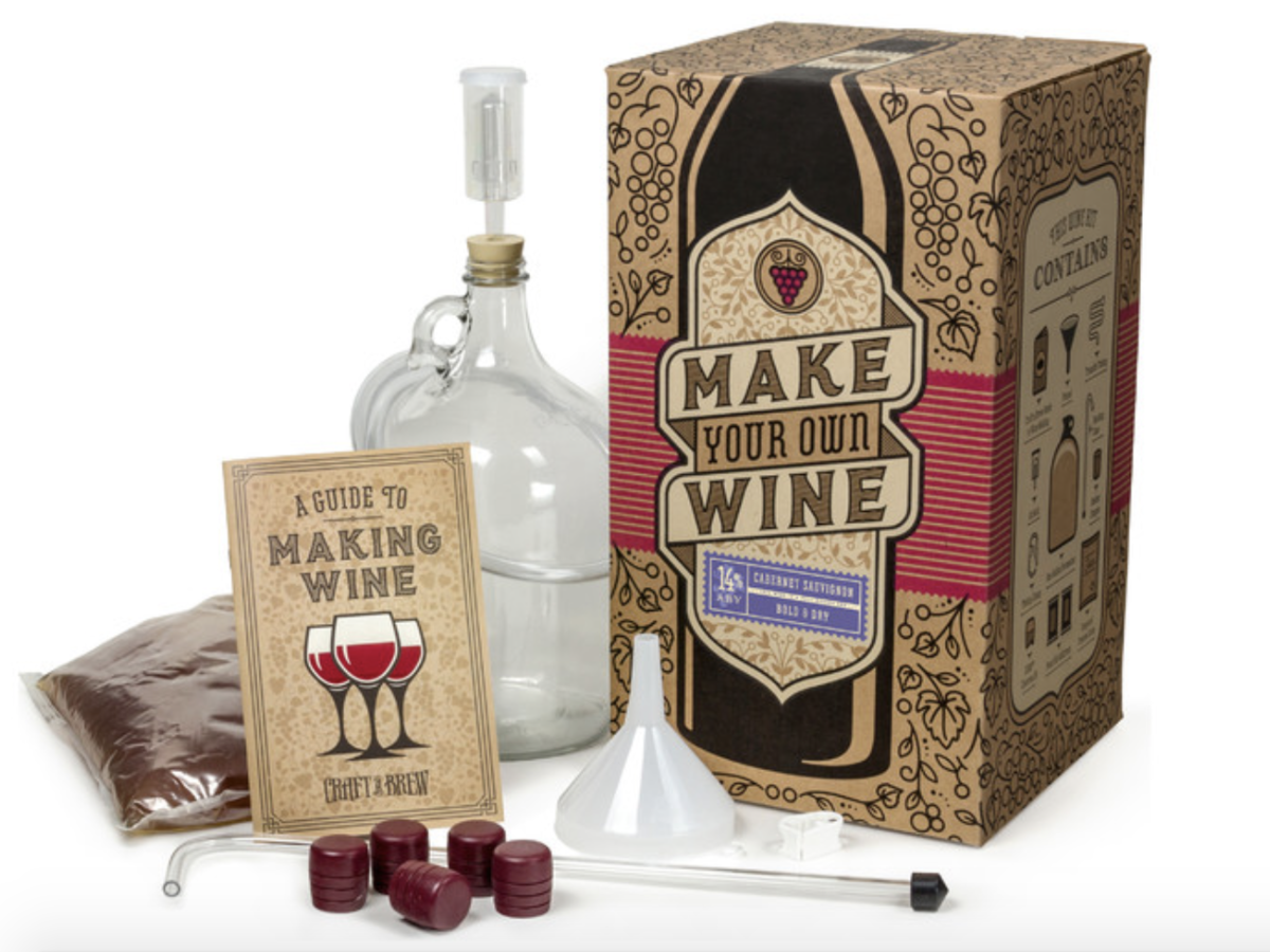 Craft A Brew Wine Making Kit, Cabernet Sauvignon