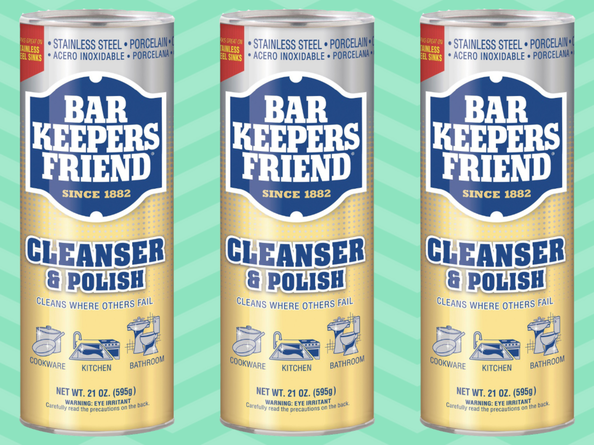10 Ways Bar Keepers Friend Can Help Clean Your Kitchen