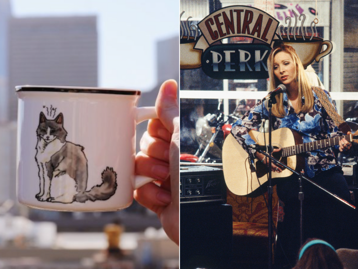 PSA: This Smelly Cat Mug Is Perfect For 'Friends' Fans