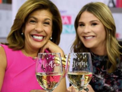 d9b56b516fb9 Jenna Bush Hager Makes Debut on 'Today' Show with Hoda and Jenna ...