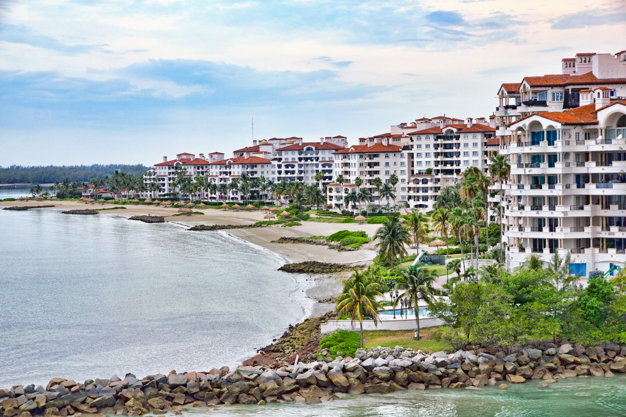Fisher Island Condominiums, Miami, Florida