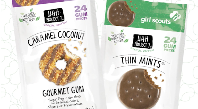 Girl Scout Cookie Gum