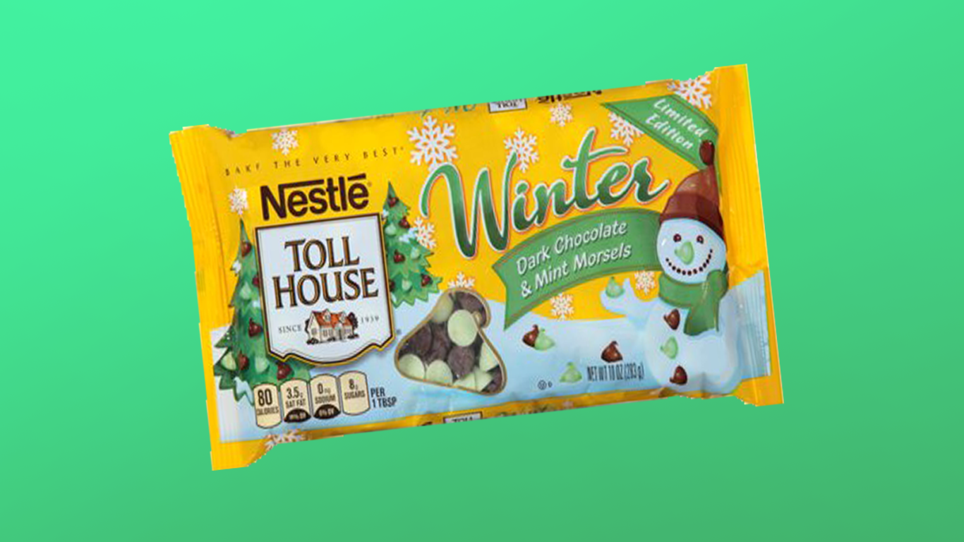 You Can Get Mint Chocolate and Dark Chocolate Chips in One Convenient Bag Now