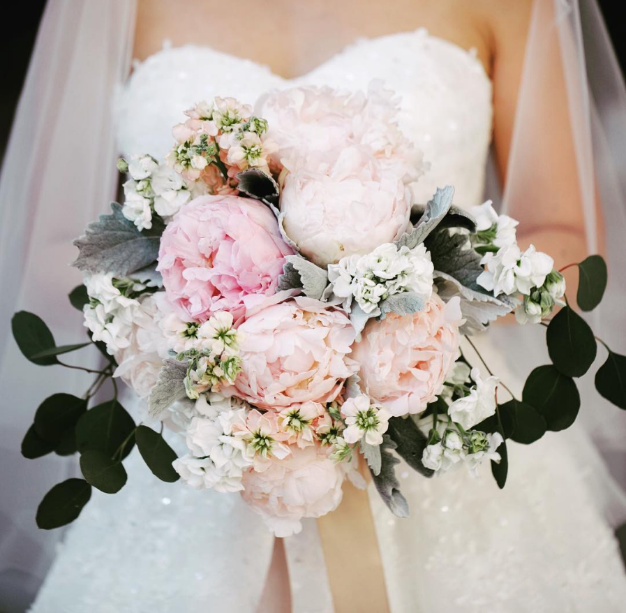 Peony Wedding Bouquets Luminous