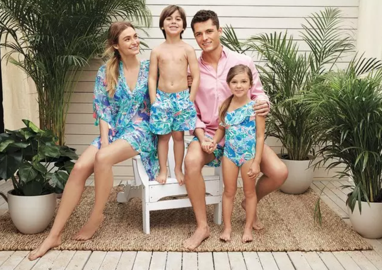 Lilly Pulitzer's Swimsuits for the Whole Family 2018