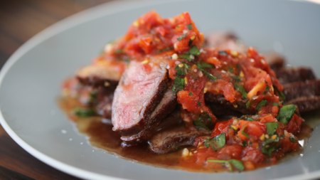 Grilled Flat Iron Steak Recipe Southern Living