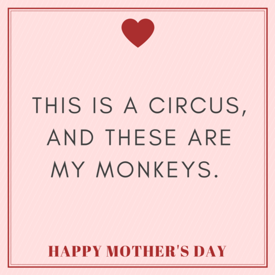 Funny Heartwarming Instagram Captions For Mothers Day