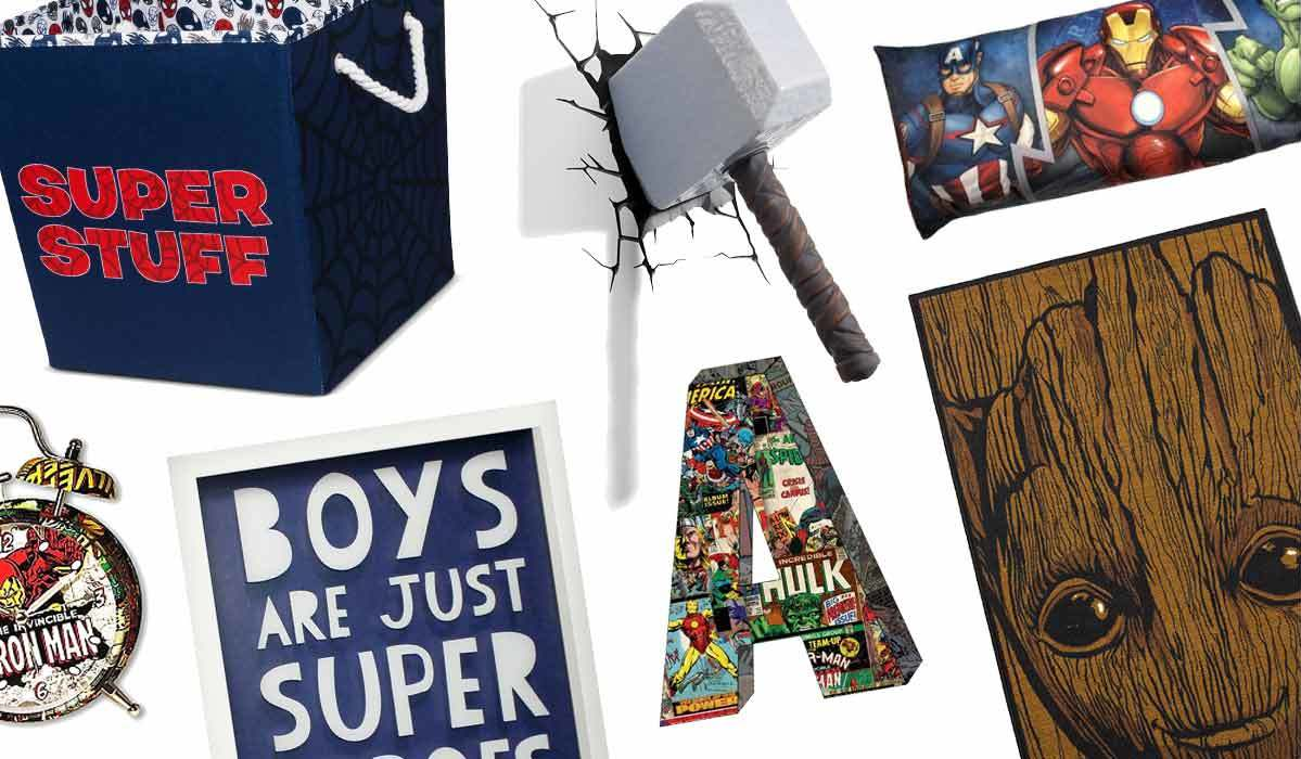 Marvel Madness! Superhero Kids Room Decor