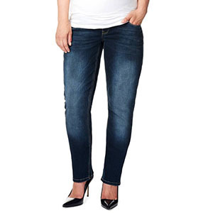 woman in dark blue jeans from Nordstrom photo