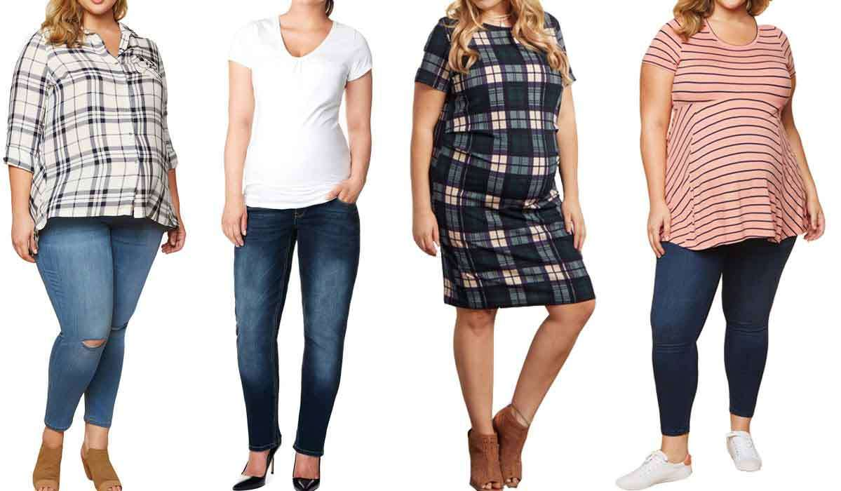 Our Favorite Flattering Plus-Size Maternity Clothes