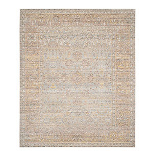 One Kings Lane multicolor area rug with intricate pattern. photo