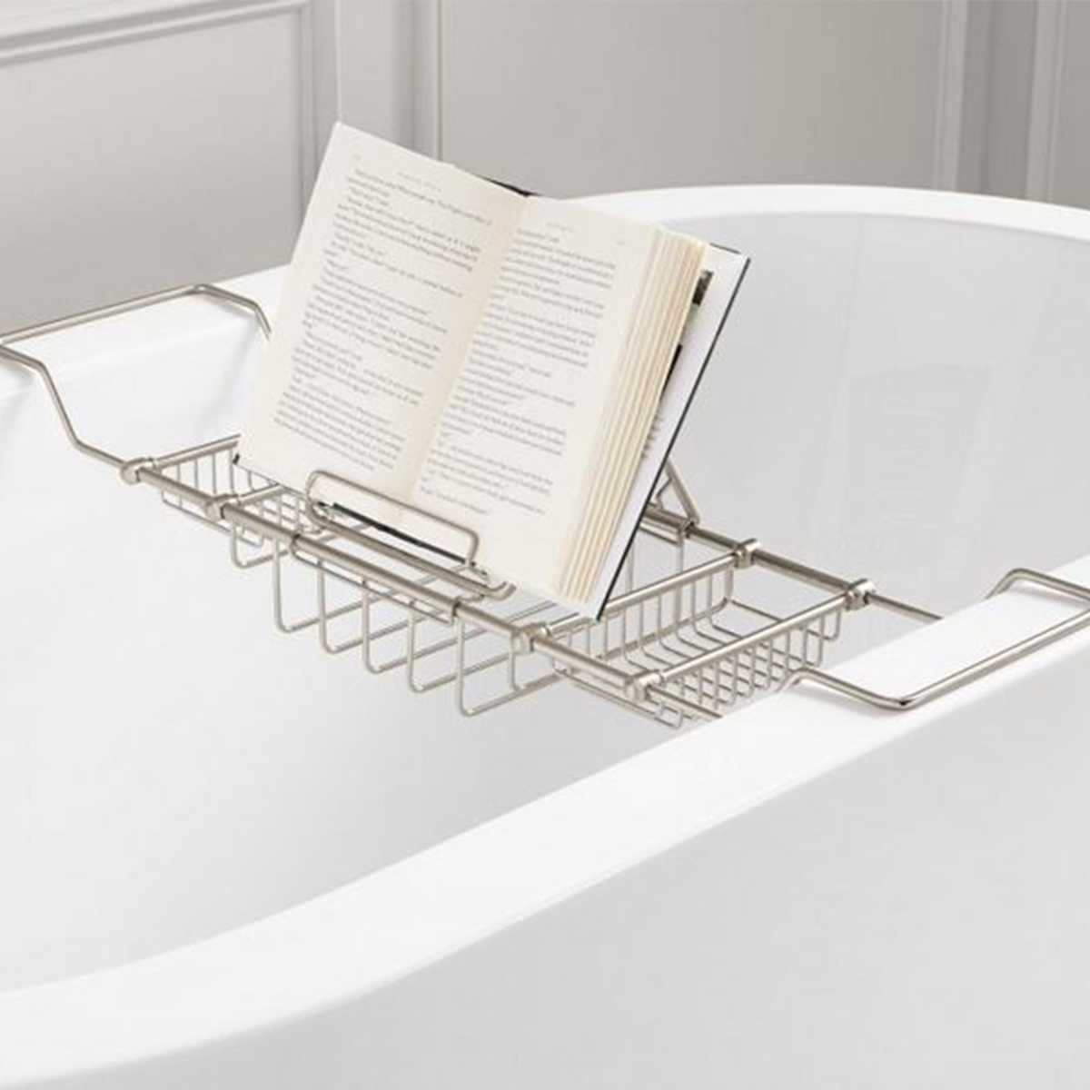 Amazon tub caddy with bookstand photo