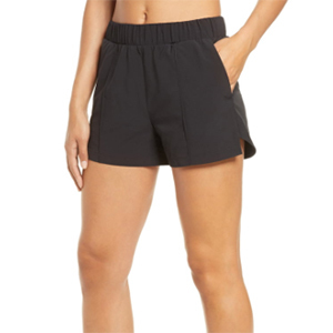 Zella Long Black Athletic Shorts from Nordstrom photo