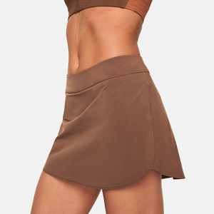 Brown exercise skort from Outdoor Voices photo