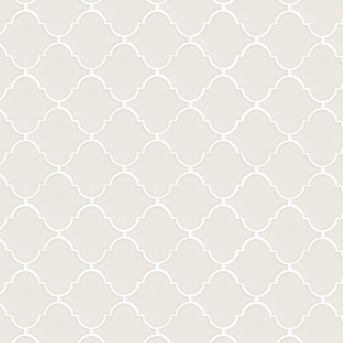 Neutral tile with a white pattern photo