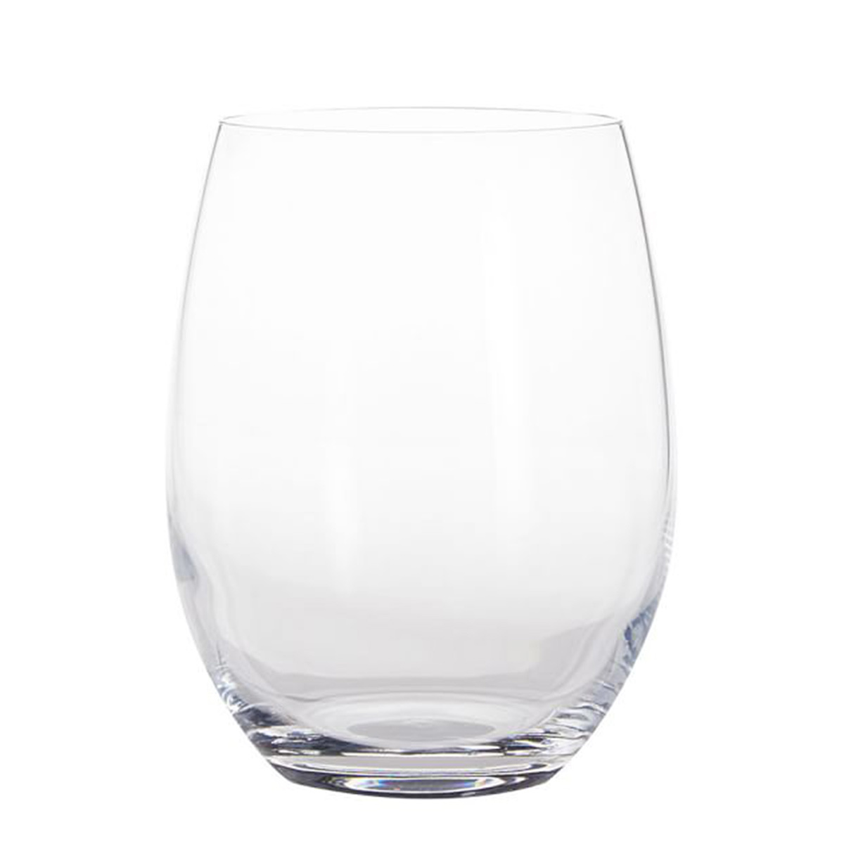 Small, chip-resistant wine glass photo