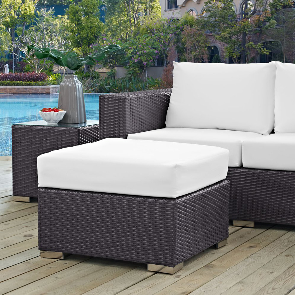 Forever Patio Catalina Sofa with Cushions NC4573S-EX recommendations
