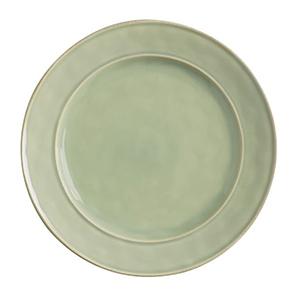 Green dinner plate from Pottery Barn photo