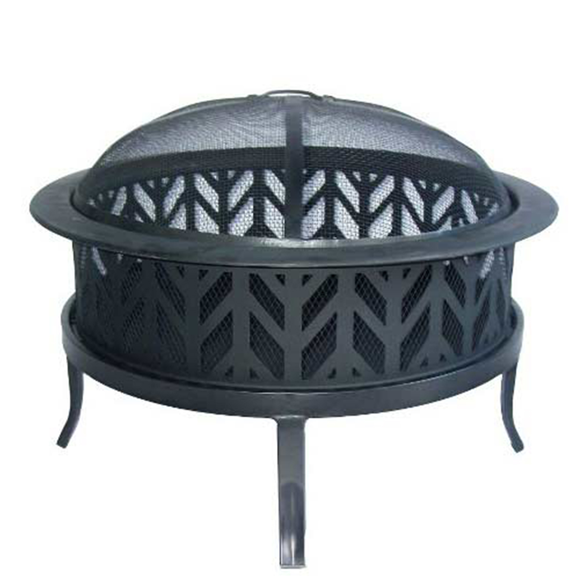 Target outdoor fire pit with cover photo