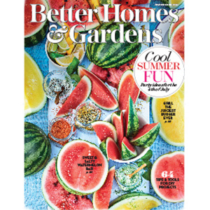 July 2018 Cover of Better Homes & Gardens photo
