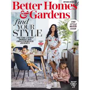 September 2018 Cover of Better Homes & Gardens featuring Ayesha Curry photo