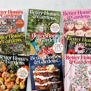 Better Homes & Gardens 2018 magazine covers photo