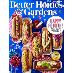 July 2019 magazine cover with hotdogs on it photo