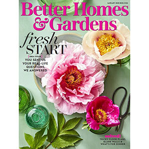 January 2020 cover of Better Homes & Gardens Magazine photo