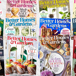 Better Homes & Gardens 2019 magazine covers photo