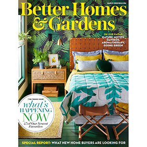 March 2020 cover of Better Homes & Gardens Magazine photo