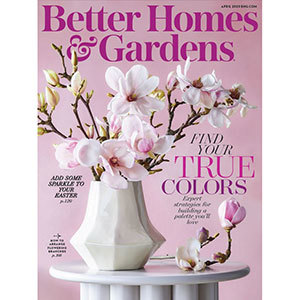April 2020 cover of Better Homes & Gardens Magazine photo