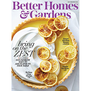 May 2020 cover of Better Homes & Gardens Magazine photo