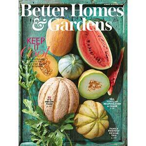 August 2020 cover of Better Homes & Gardens Magazine photo