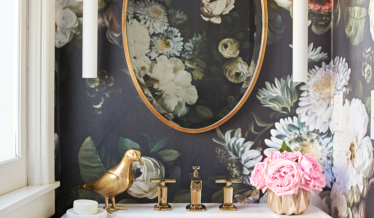 9 Dark Floral Home Decor Products to Get Now