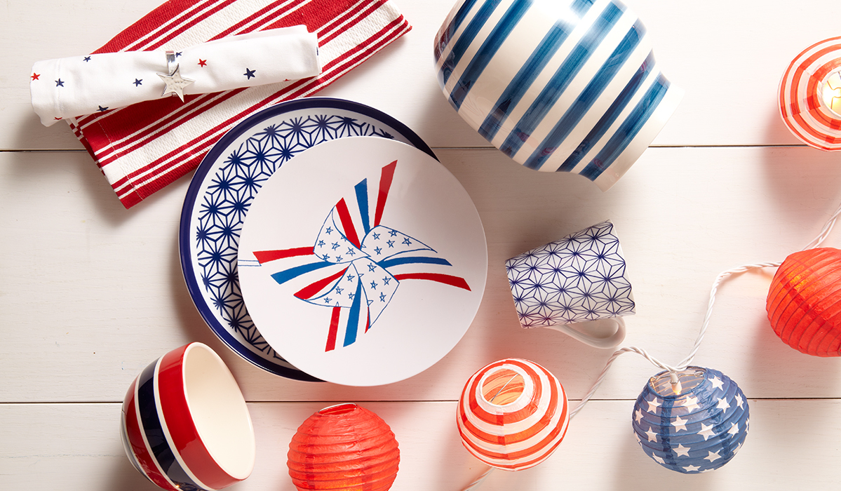 Sparks Will Fly: Create A Festive Fourth of July Tablescape