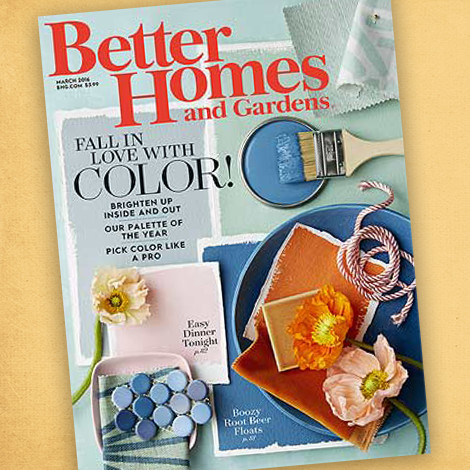 Better Homes & Gardens March 2016 Issue photo