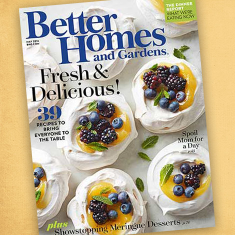 Better Homes & Gardens May 2016 Issue photo