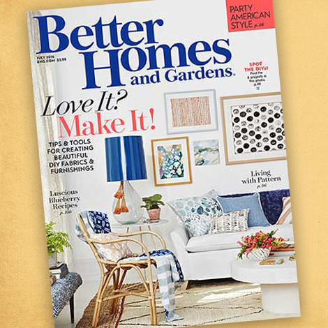 Better Homes & Gardens July 2016 photo