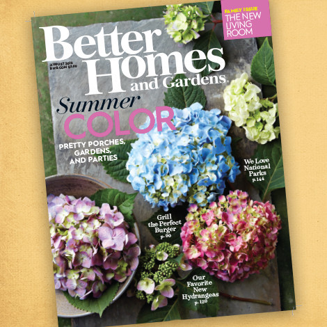 Better Homes & Gardens August 2016 Issue photo